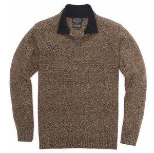 Men's Pendleton 1/4 Zip Pullover Sweater - Medium